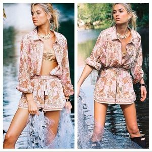 Spell And The Gypsy Jungle Shorts Blouse Set